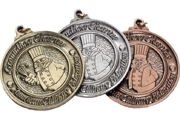 Custom Spin Cast Medals